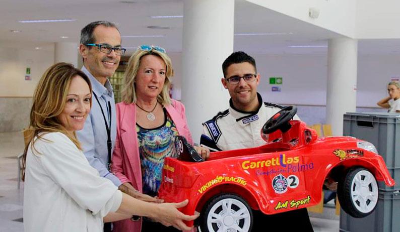 Donación coches eléctricos